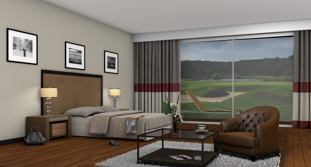 Hotel Golf Christine Bouchard