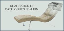 Réalisation de catalogues 3D & BIM