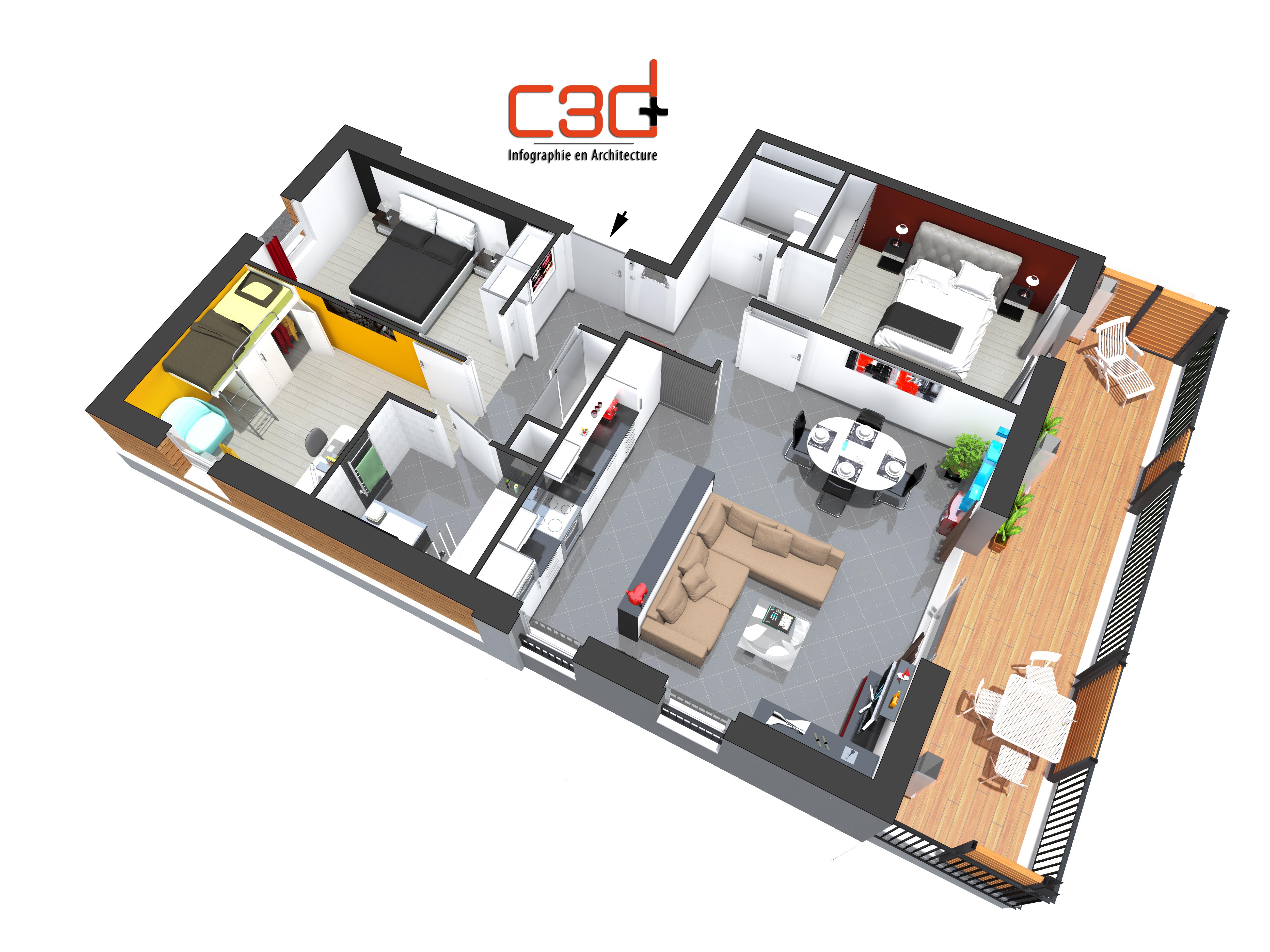 C3D+PLAN3D T4