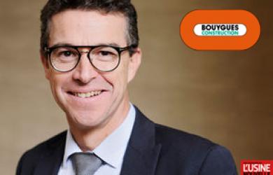 Franck Le Guillou - Bouygues Construction - Article de l'usine nouvelle