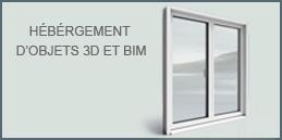 Hébergement d'objets 3D & BIM