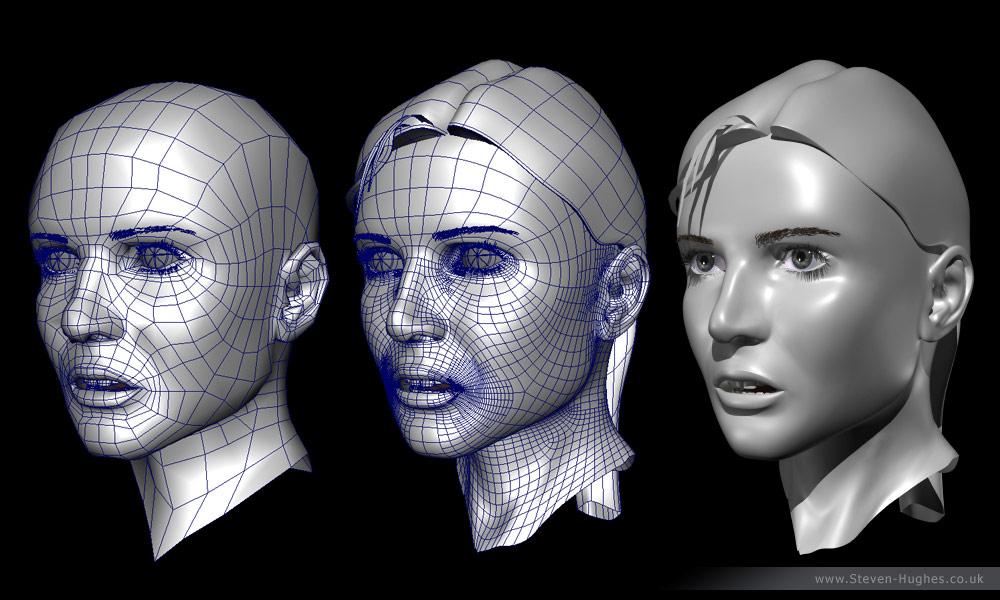 visage-polygones