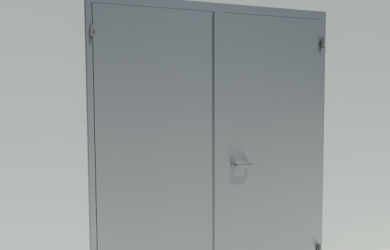 BIM security doors